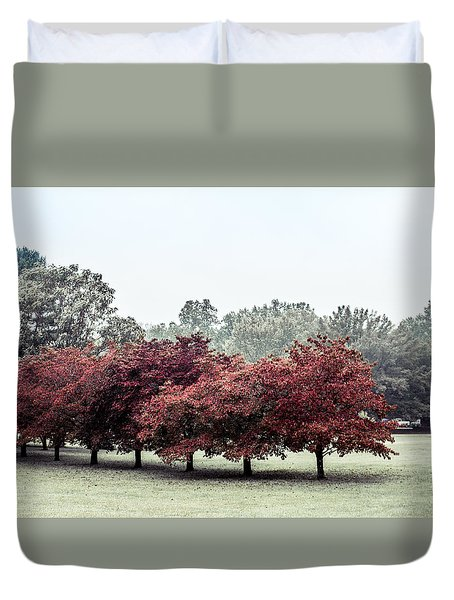 Early Fall Duvet Cover