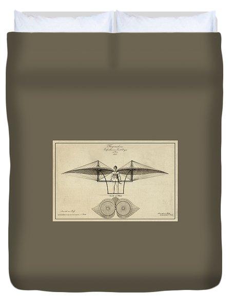 Early Flight Duvet Cover