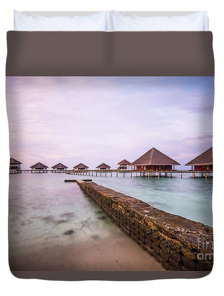 Duvet Cover featuring the photograph Early In The Morning by Hannes Cmarits