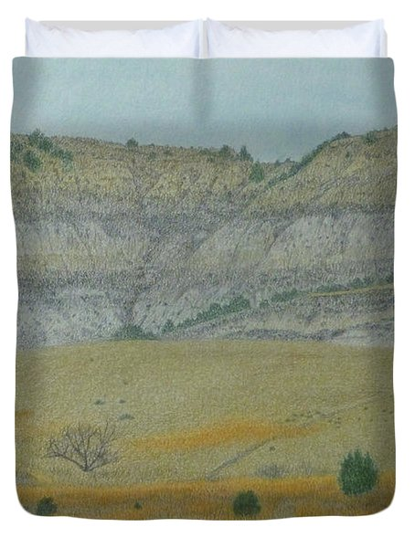 Early May On The Western Edge Duvet Cover