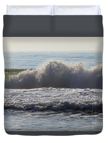 Early Moring Wave Duvet Cover