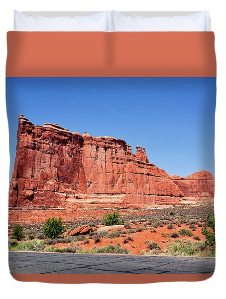 Early Morning Arches National Park Utah 06 Duvet Cover