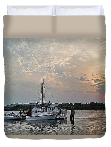 Early Morning Calm Duvet Cover by Suzy Piatt