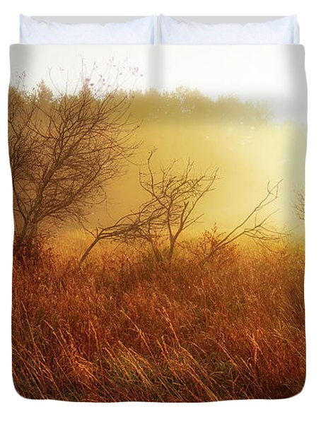 Early Morning Country Duvet Cover