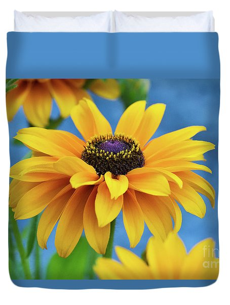 Early Morning Delight Duvet Cover by Randy Wood