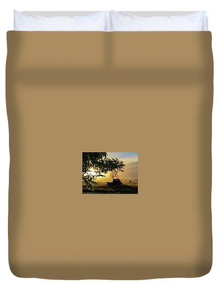 Duvet Cover featuring the photograph Early Morning In Watsonville by Lora Lee Chapman