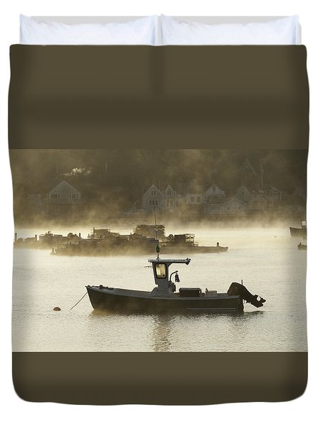 Early Morning Mist Duvet Cover