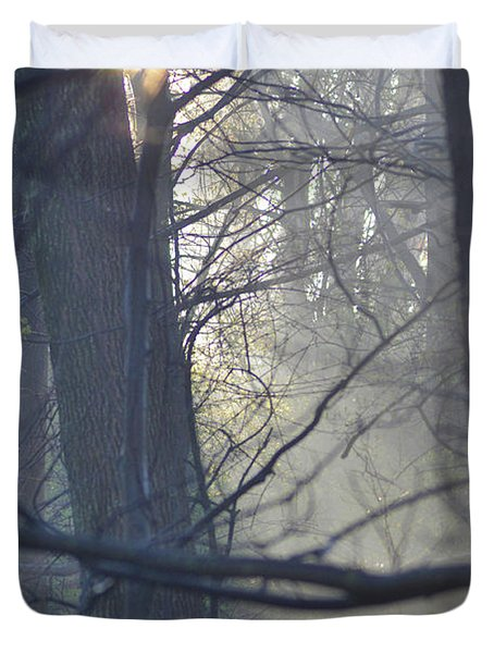 Early Morning Rays Duvet Cover by Bill Cannon