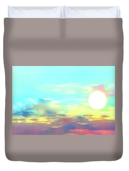 Early Morning Rise- Duvet Cover