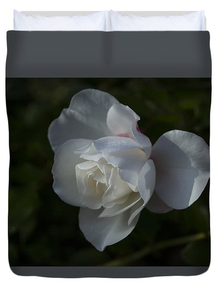Early Morning Rose Duvet Cover