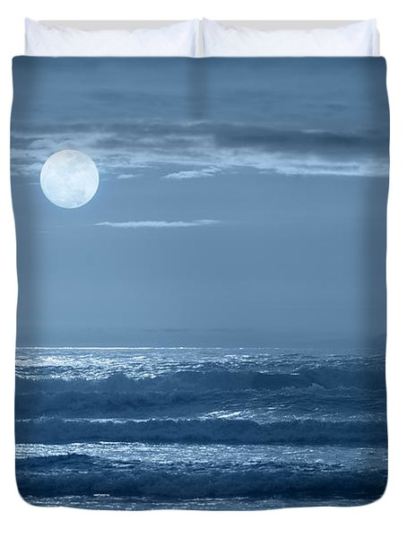 Early  Morning Splendor Duvet Cover