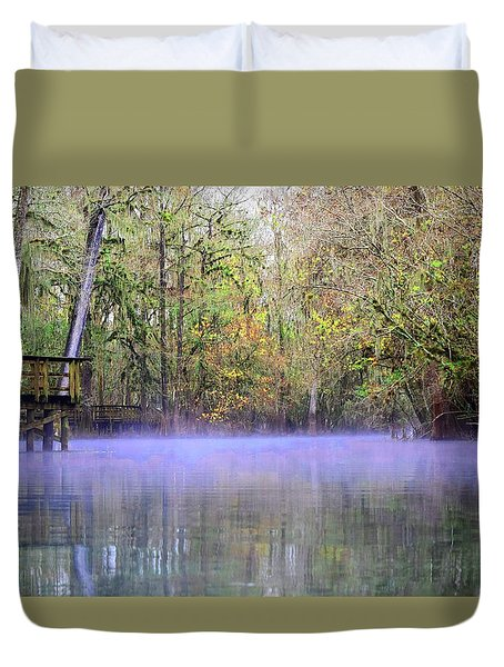 Early Morning Springs Duvet Cover