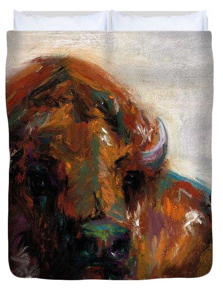 Early Morning Sunrise Duvet Cover by Frances Marino