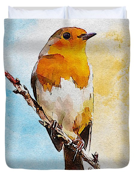 Early Spring Duvet Cover by Greg Collins