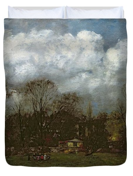Early Spring Duvet Cover by Hans Thoma