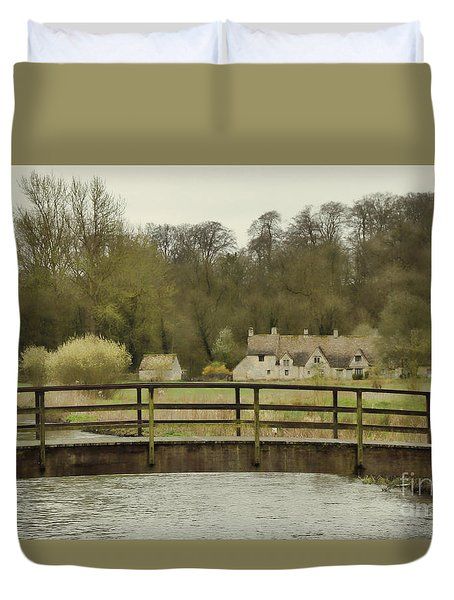 Early Spring In The Counties Duvet Cover