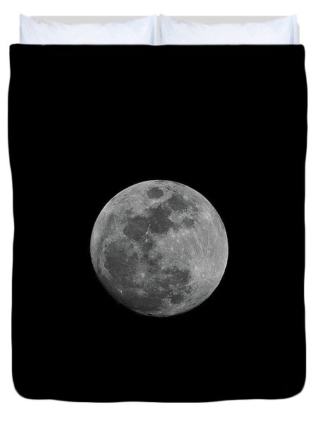 Early Spring Moon 2017 Duvet Cover