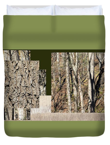 Early Spring Walk -  Duvet Cover