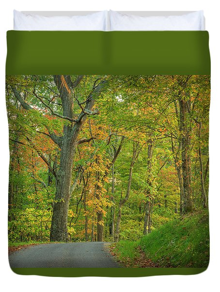 Duvet Cover featuring the photograph Early Sun by David Waldrop