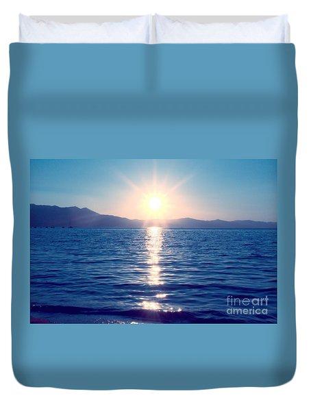 Early Sunset Duvet Cover