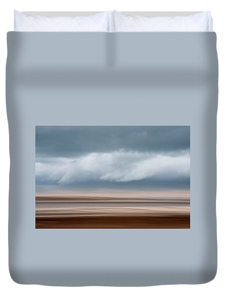 Early Winter At Sandy Neck Duvet Cover