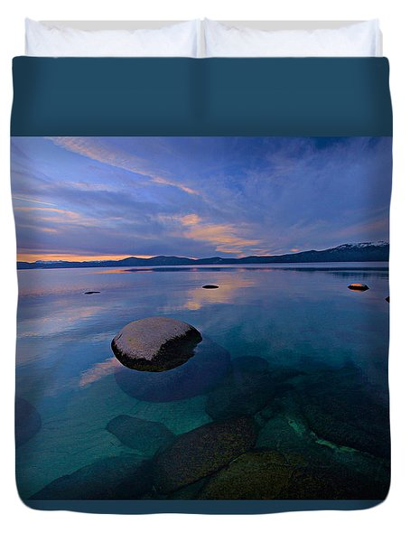 Early Winter Duvet Cover by Sean Sarsfield