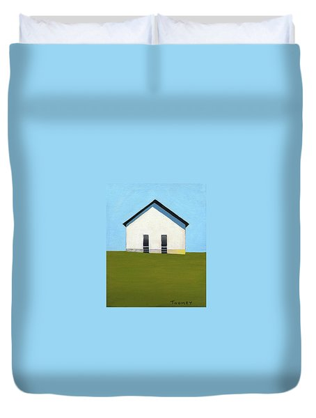 Earlysville Baptist Church Duvet Cover