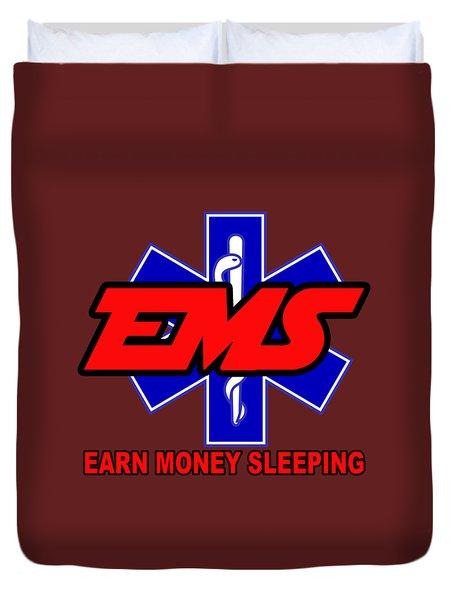 Earn Money Sleeping Duvet Cover