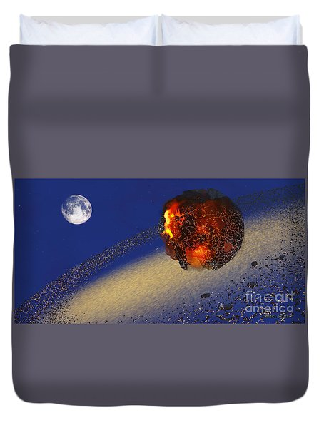 Earth 2012 Duvet Cover by Corey Ford