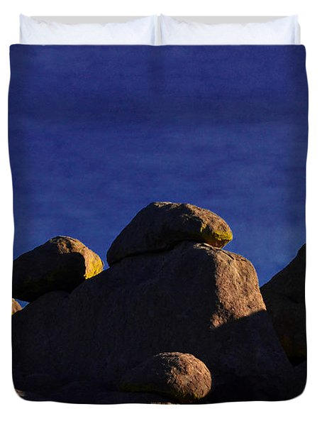 Earth And Sky Duvet Cover