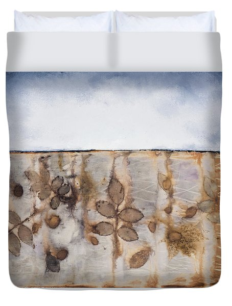 Earth And Sky II Duvet Cover