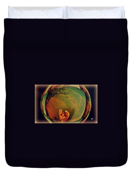 Earth Angel Duvet Cover