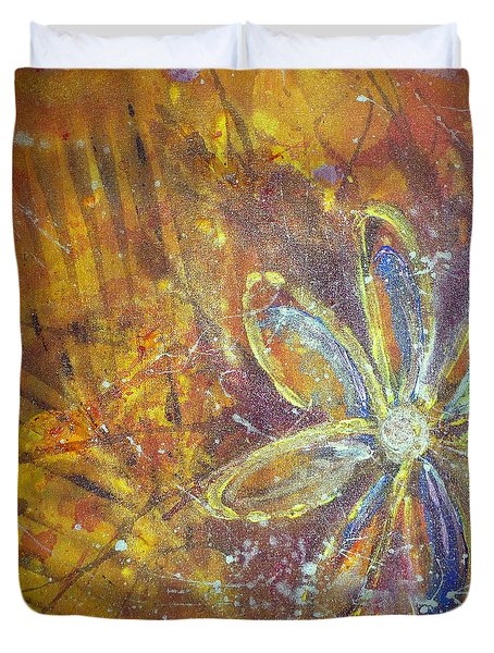 Earth Flower Duvet Cover