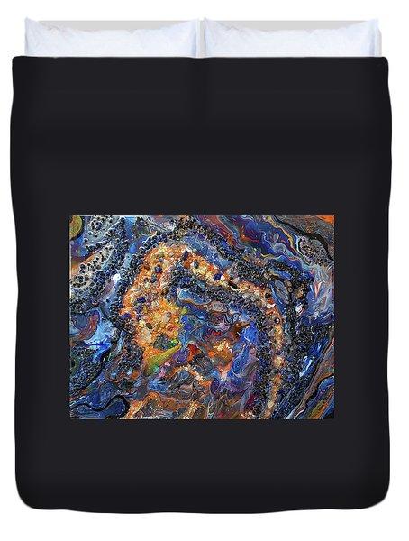 Earth Gems #18w01 Duvet Cover
