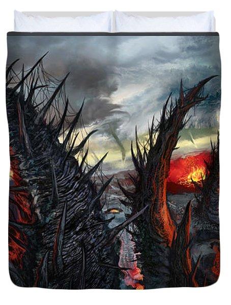 Earth Gives Back Duvet Cover