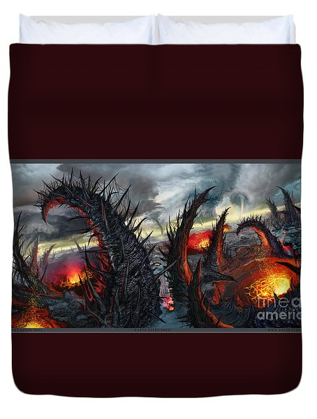 Earth Gives Back Duvet Cover by Tony Koehl