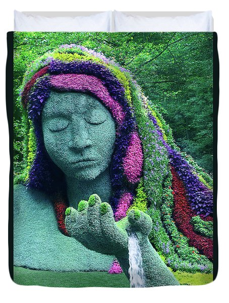 Earth Goddess Duvet Cover