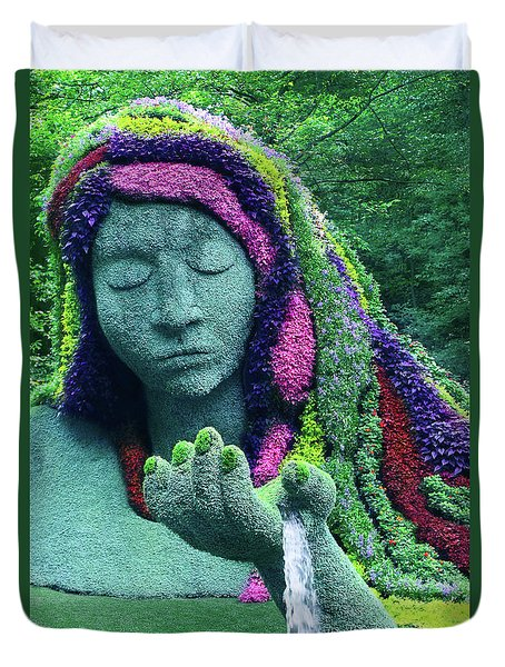 Earth Goddess Duvet Cover