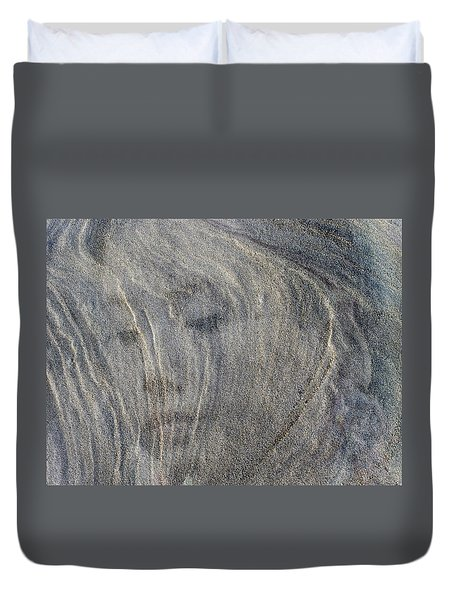 Duvet Cover featuring the photograph Earth Memories - Sleeping River # 3 by Ed Hall