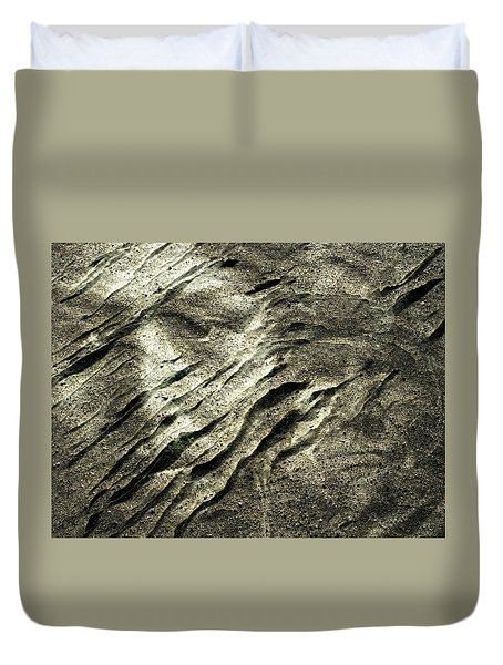 Duvet Cover featuring the photograph Earth Memories - Sleeping River # 4 by Ed Hall