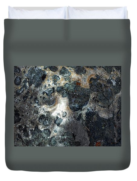 Duvet Cover featuring the photograph Earth Memories - Stone # 8 by Ed Hall