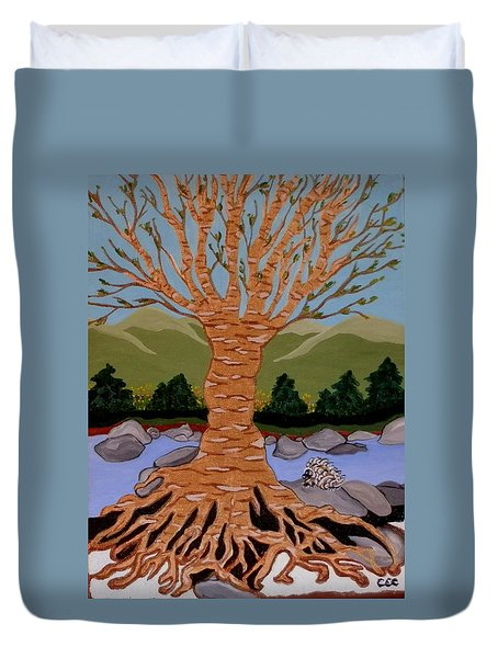 Earth Mother Duvet Cover