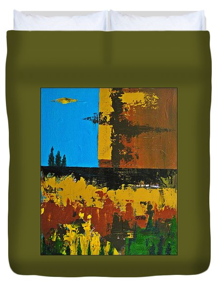 Earth Number Four Duvet Cover by Scott Haley