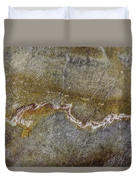 Earth Portrait 000-204 Duvet Cover