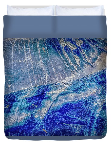 Duvet Cover featuring the photograph Earth Portrait 001-102 by David Waldrop
