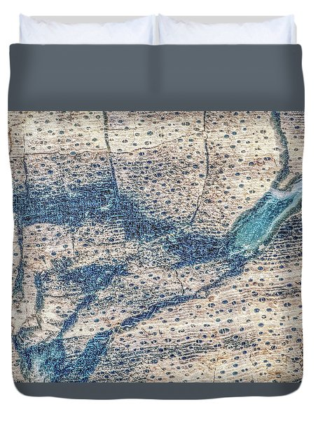 Duvet Cover featuring the photograph Earth Portrait 001-118 by David Waldrop