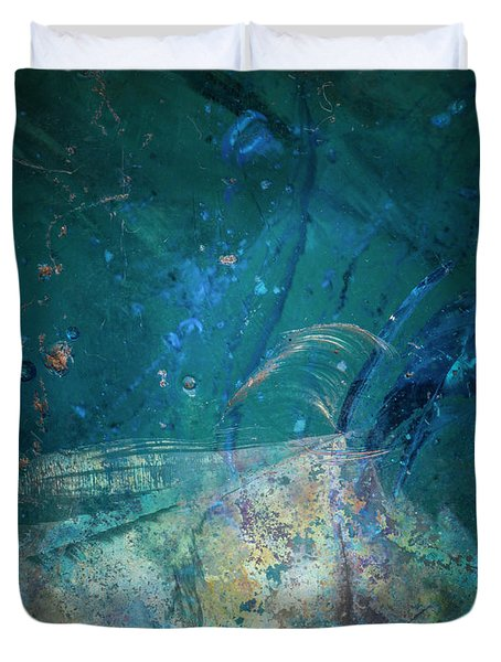 Duvet Cover featuring the photograph Earth Portrait 001-88 by David Waldrop