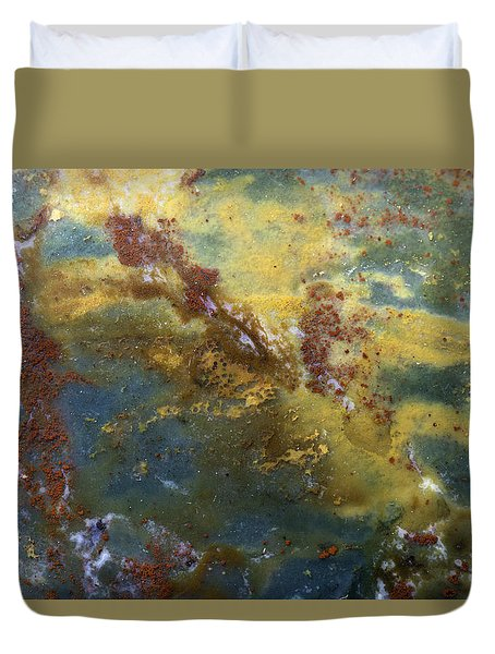 Earth Portrait 008 Duvet Cover