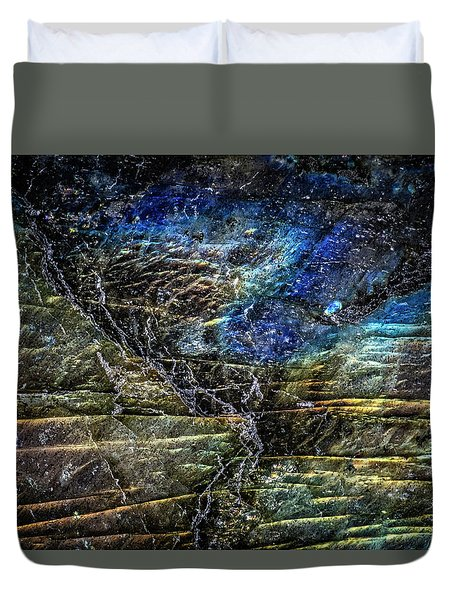 Duvet Cover featuring the photograph Earth Portrait 01-18 by David Waldrop