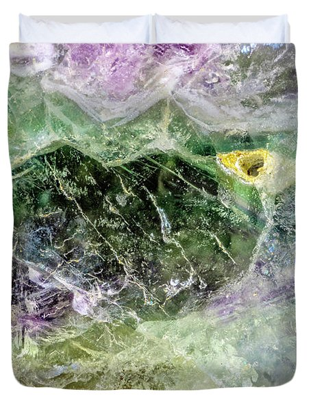 Earth Portrait 268 Duvet Cover